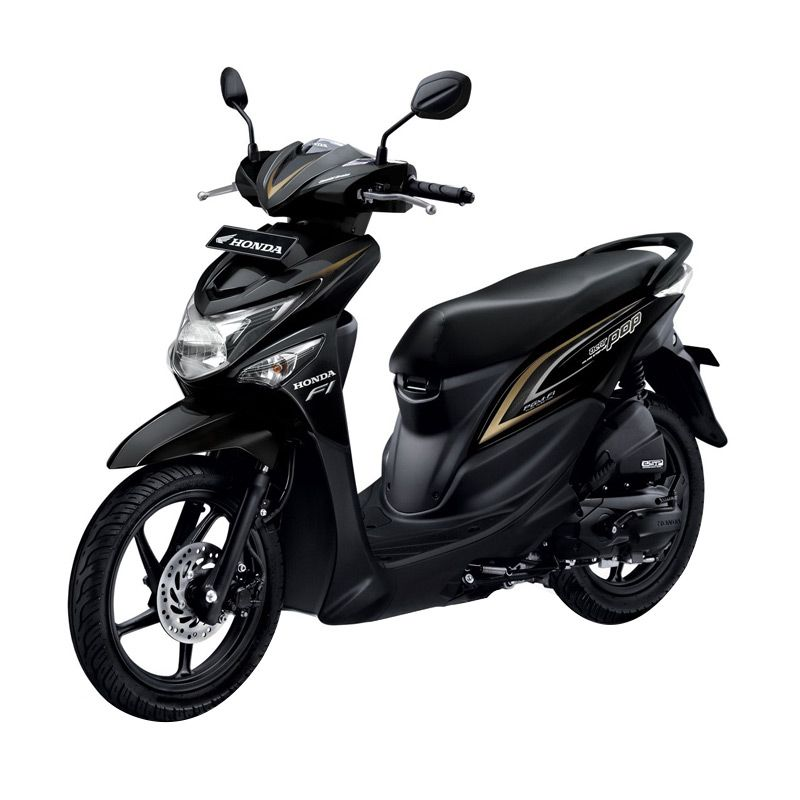 Honda All New BeAT eSP POP CW Tone Black Sepeda Motor [DP 4.000.000]