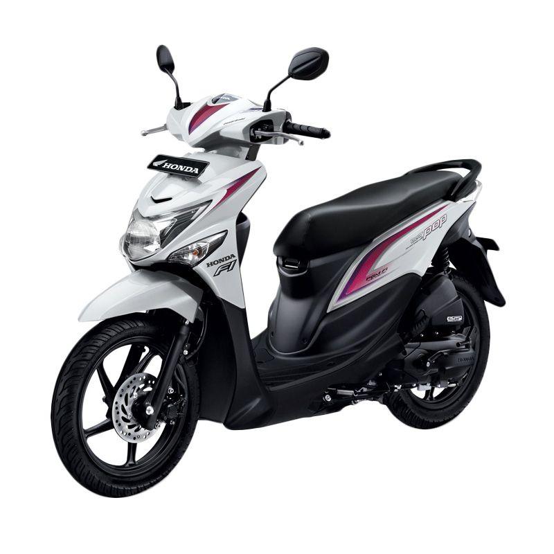 Honda All New BeAT POP eSP CBS ISS Harmony White Sepeda Motor [DP 3.500.000]