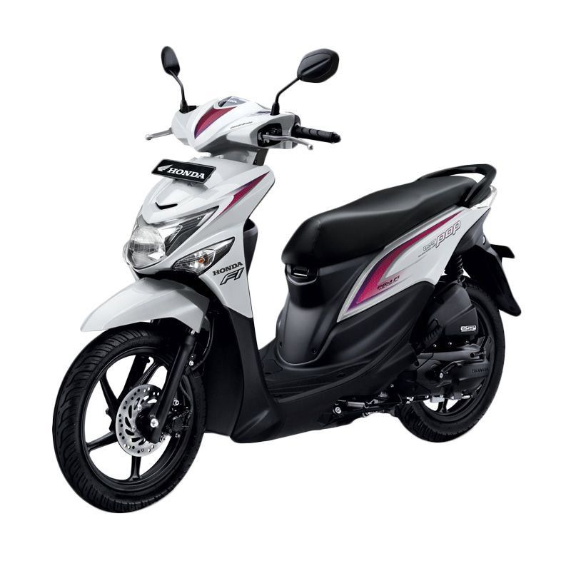 Honda All New BeAT POP eSP CBS Harmony White Sepeda Motor