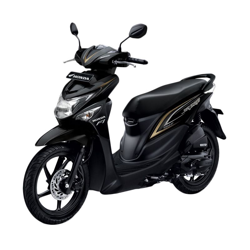Honda All New BeAT POP eSP CBS ISS Tone Black Sepeda Motor [DP 3.500.000]
