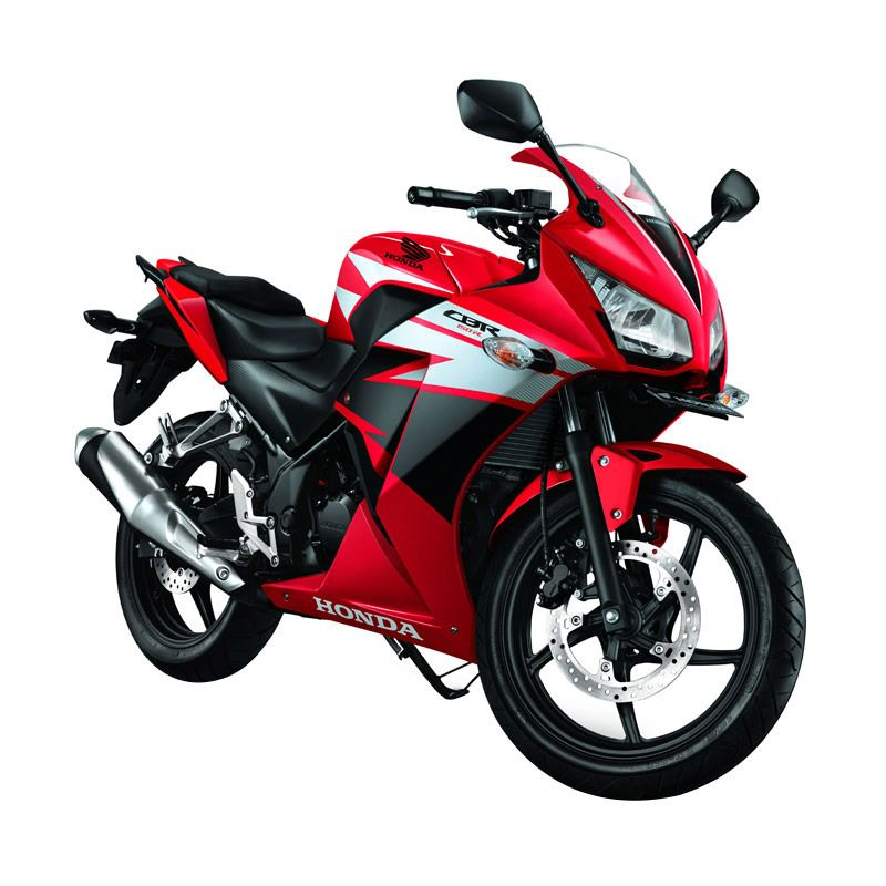 Honda All New CBR 150R Champion Red Sepeda Motor [DP 6.000.000]