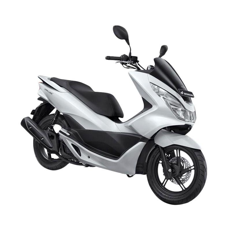 Honda All New PCX 150 Glamour White Sepeda Motor [DP 7.500.000]