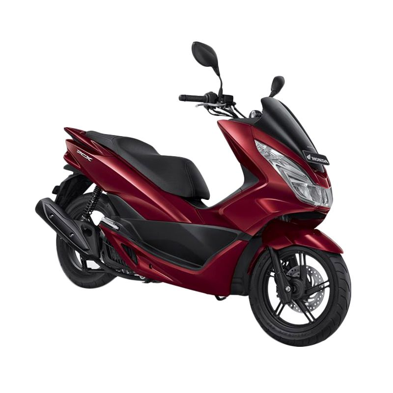 Honda All New PCX 150 Luxury Red Sepeda Motor [DP 8.000.000]