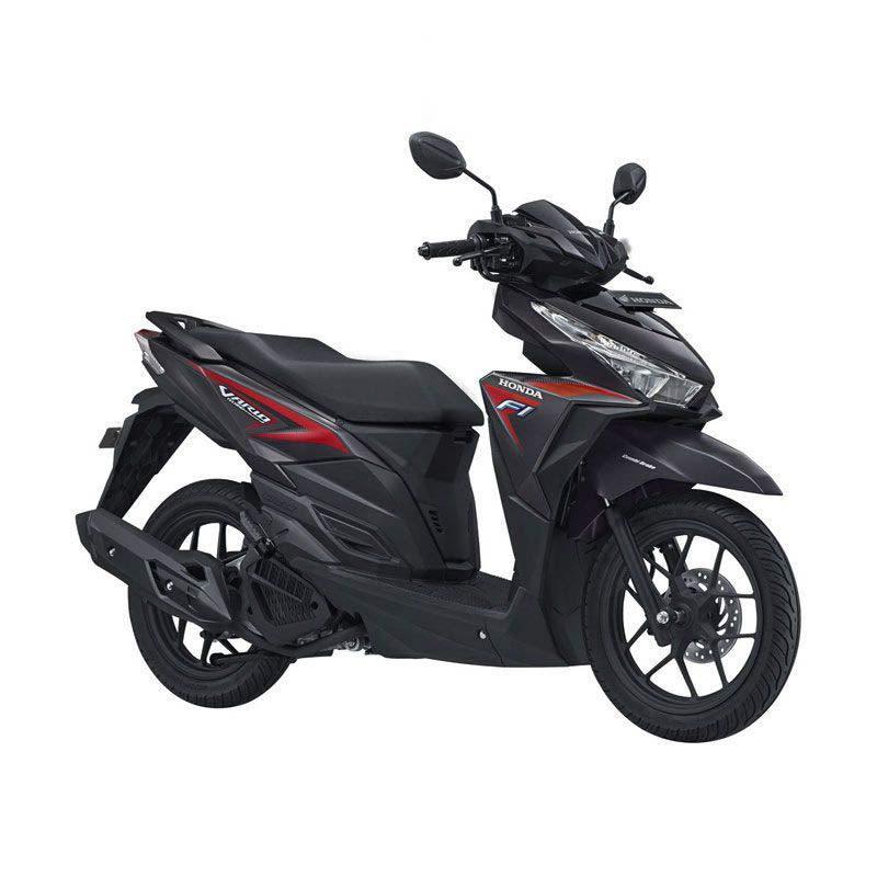 Honda All New Vario 125 eSP CBS Titanium Black Sepeda Motor [DP 5.000.000]