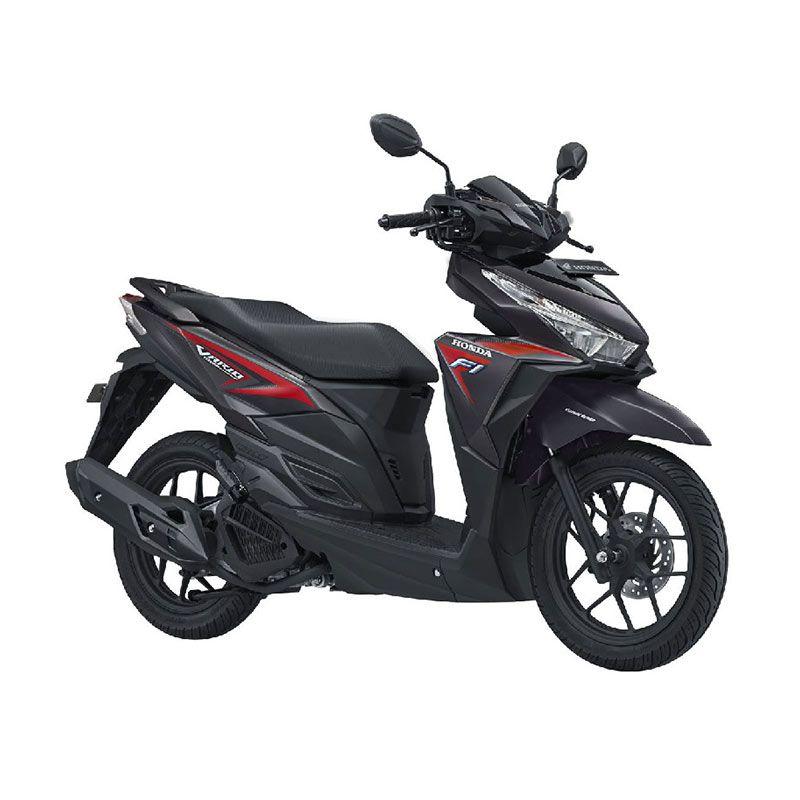 Honda All New Vario 125 eSP CBS Titanium Black Sepeda Motor