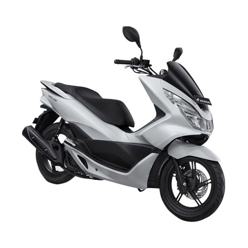 Honda All New PCX 150 Glamour White Sepeda Motor