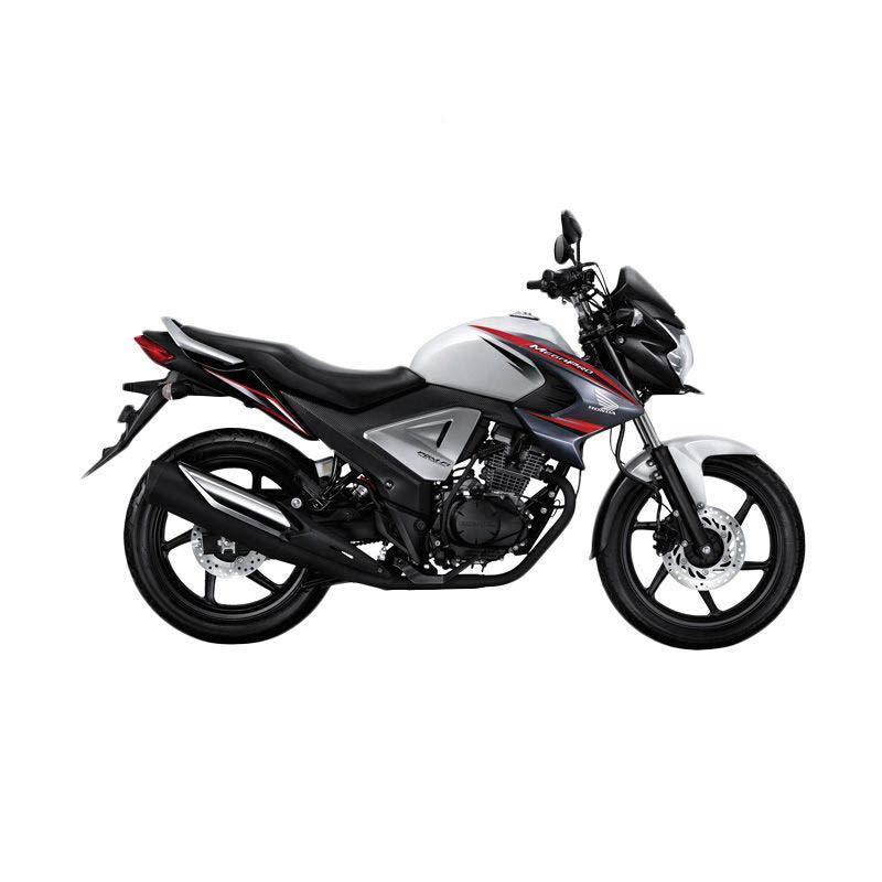 Honda New Honda MegaPro FI Active White Sepeda Motor [DP 5.500.000]