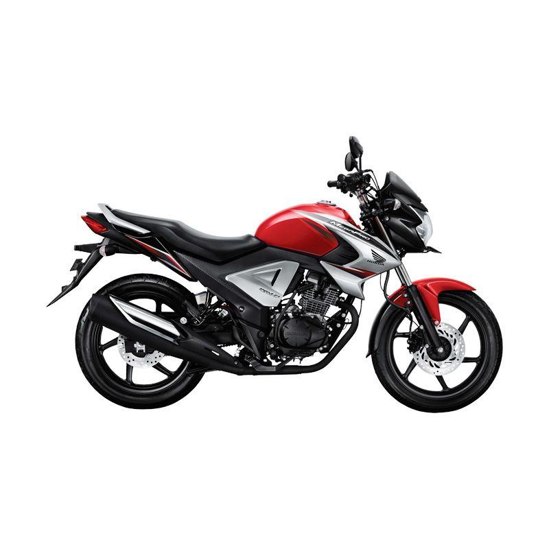 Honda New Honda MegaPro FI Renegade Red Sepeda Motor [DP 5.000.000]