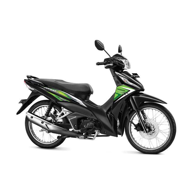 Honda New Revo FI 110 FIT Neo Green Sepeda Motor
