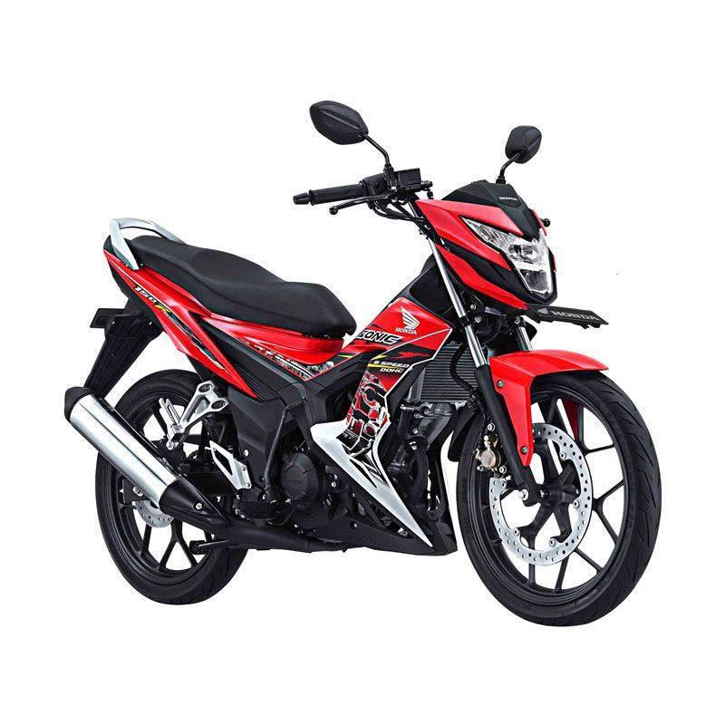 Honda New Sonic 150R Energetic Red Sepeda Motor [DP 4.500.000]