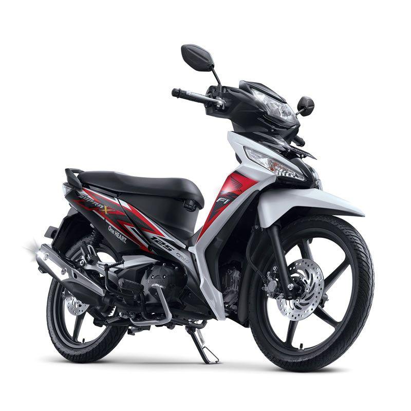 Honda New Supra X 125 FI CW Luxury White Sepeda Motor [DP 4.500.000]