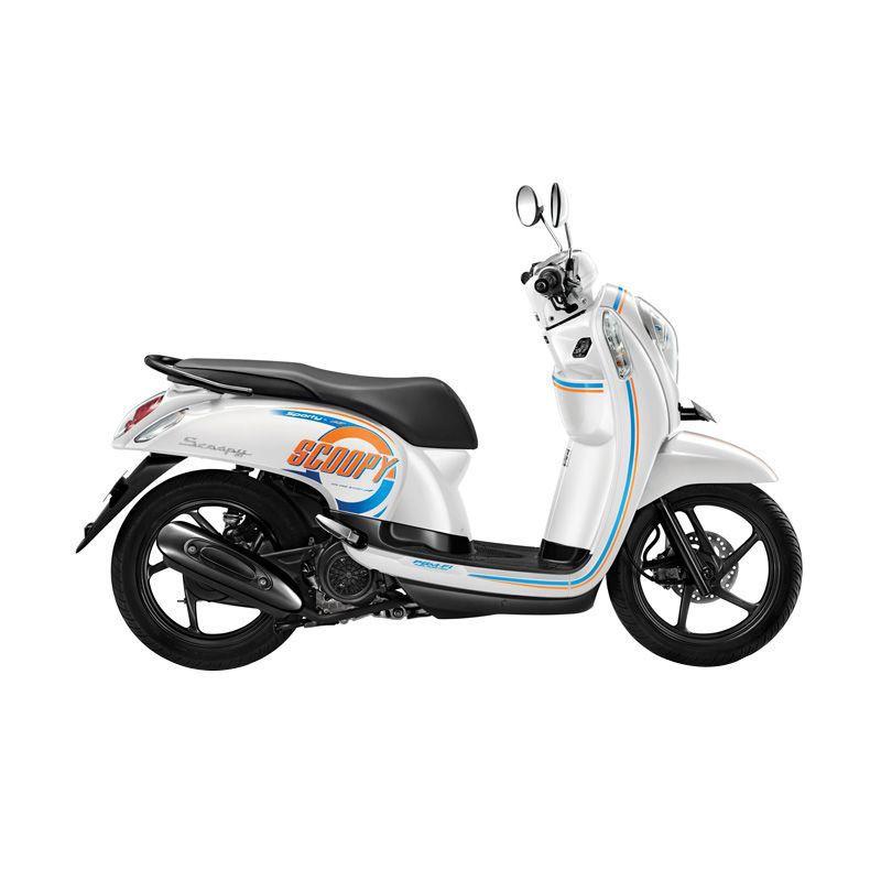 Honda Scoopy eSP Sporty Capital White Sepeda Motor