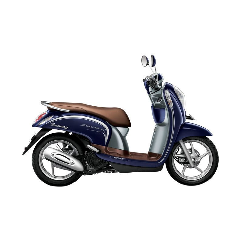 Honda Scoopy eSP Stylish Uptown Blue Sepeda Motor