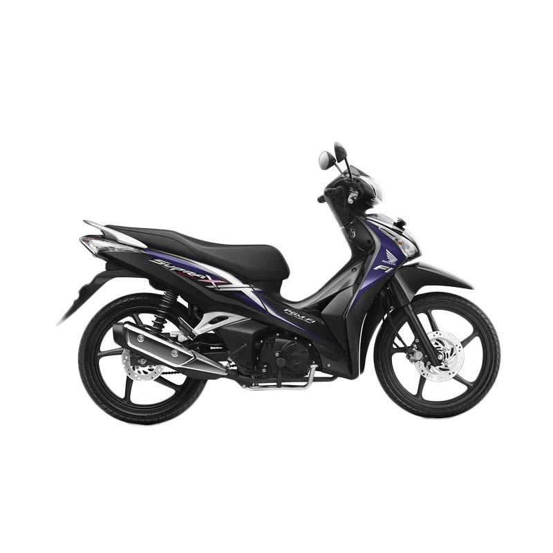 Honda Supra X 125 Helm in PGM-FI Magna Violet Sepeda Motor [DP 3.000.000]