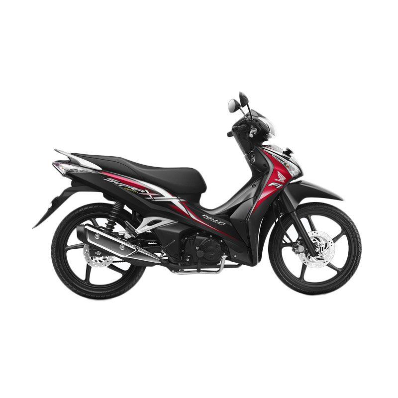 Honda Supra X 125 Helm in PGM-FI Superior Red Sepeda Motor [DP 3.500.000]
