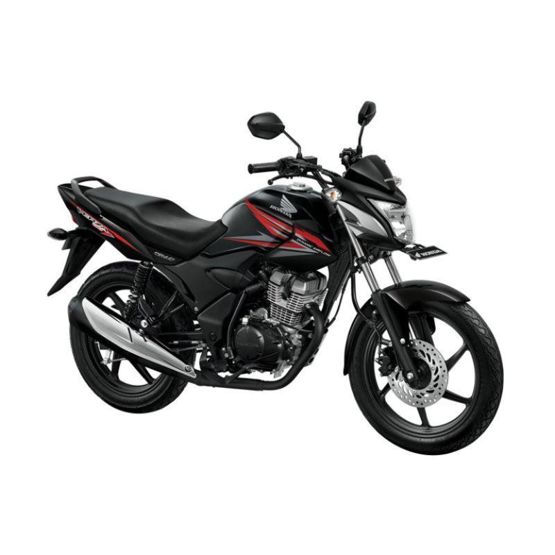 Honda Verza 150 CW Masculine Black Sepeda Motor