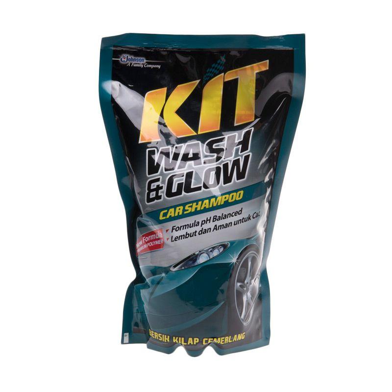 KIT Wash and Glow Car Shampoo Cairan Pembersih Mobil [800 mL]