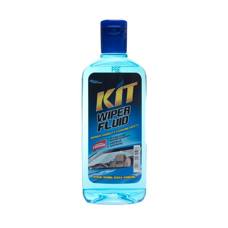 KIT Wiper Fluid Cairan Pembersih Kaca Mobil [300 mL]