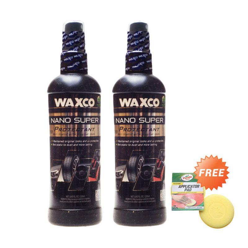 Waxco Nano Super Protectant [250 mL/Buy 2 Get 1 Sponge]