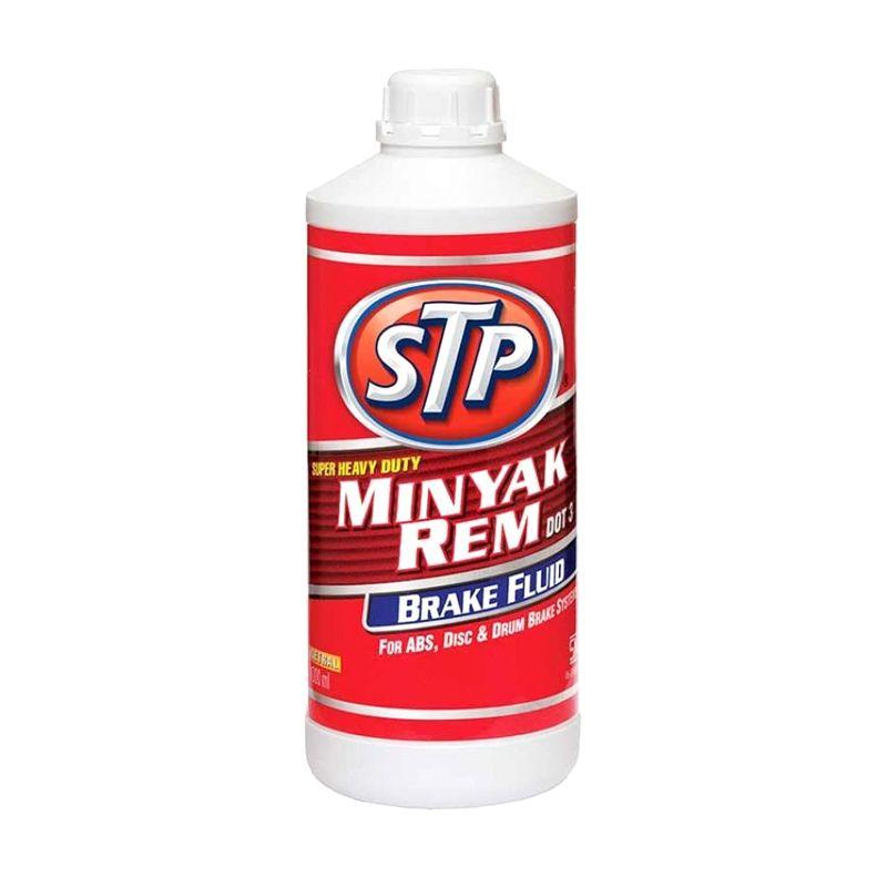 STP Super Heavy Duty Brake Fluid Dot-3 Neutral Putih Minyak Rem [1 L]