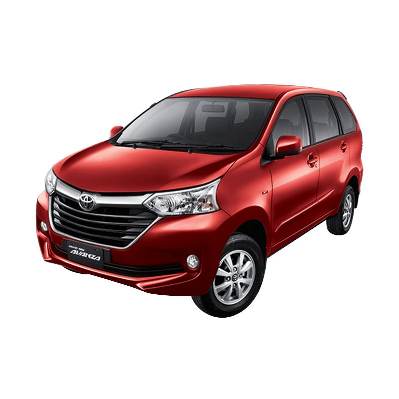 Toyota New Avanza 1.5 G M/T Dark Red Mica Metallic Mobil