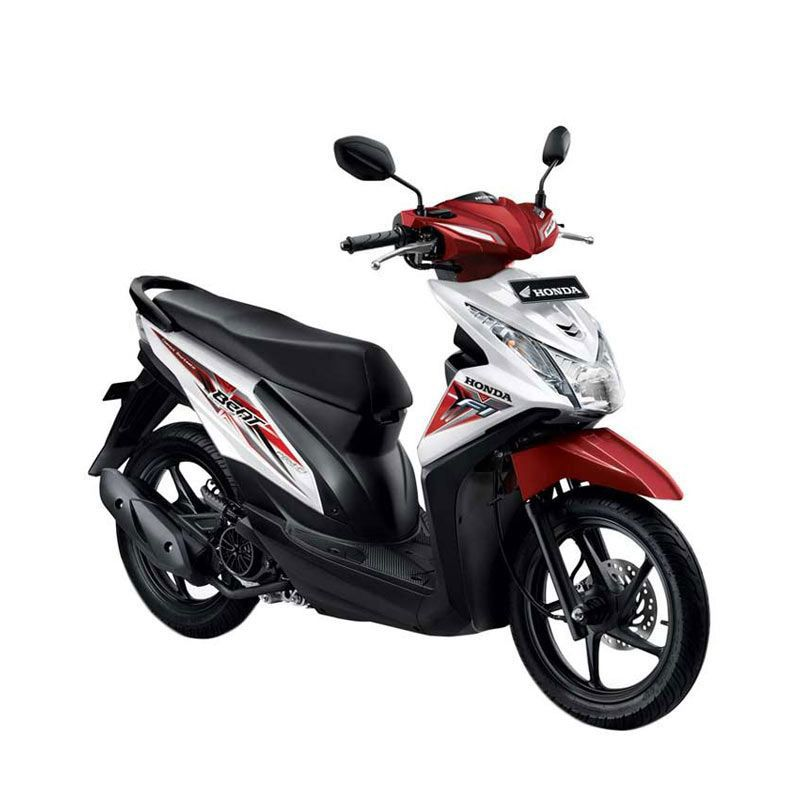 Honda All New BeAT eSP CBS ISS Techno White Sepeda Motor [DP 3.500.000]