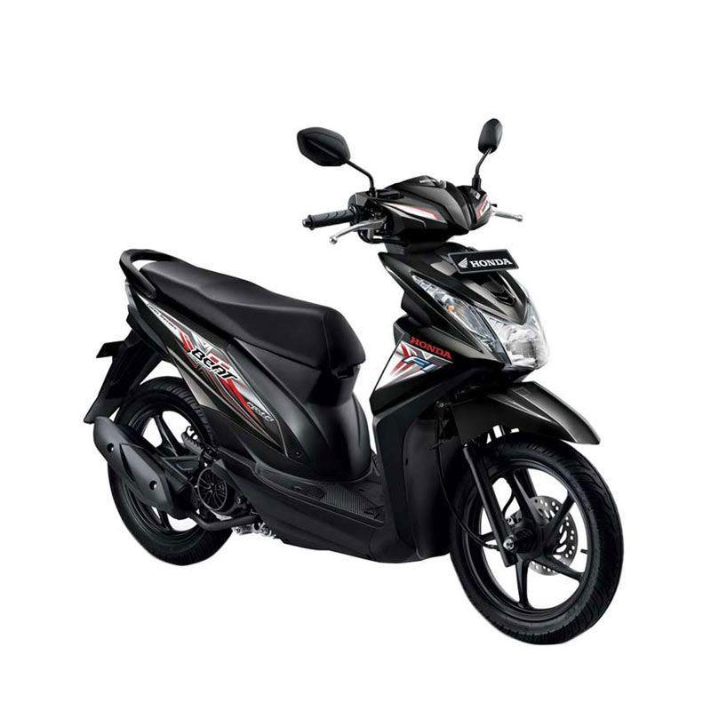 Honda All New BeAT eSP CW Hard Rock Black Sepeda Motor [DP 4.500.000]