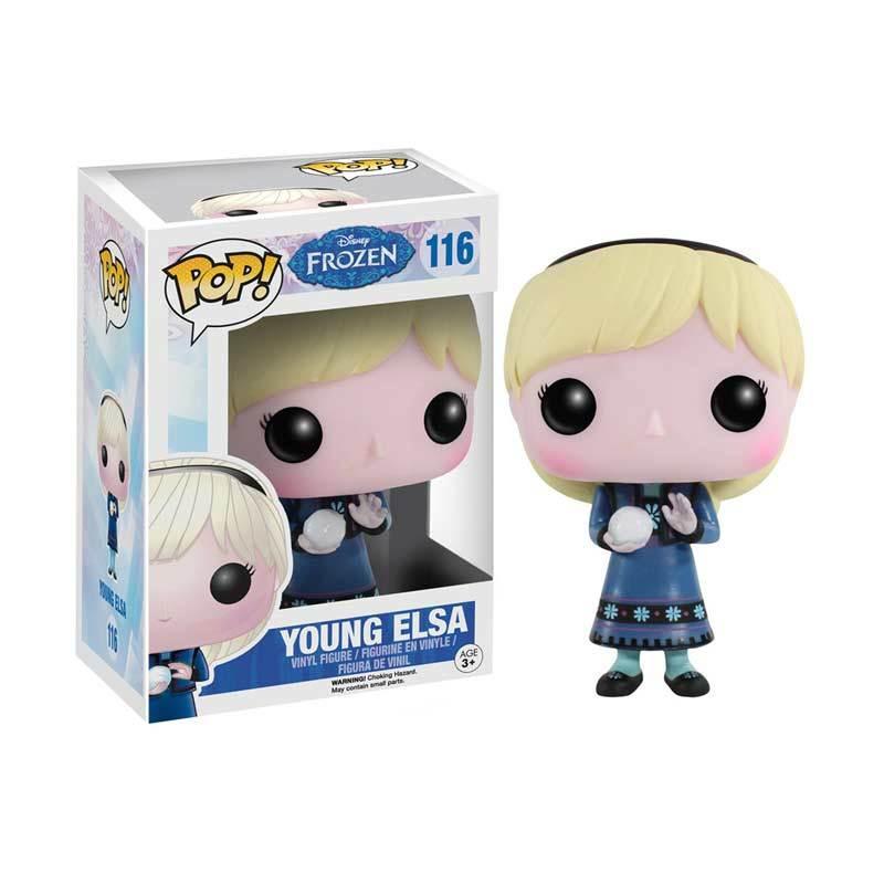 Funko POP Frozen 2 Young Elsa Mainan Anak