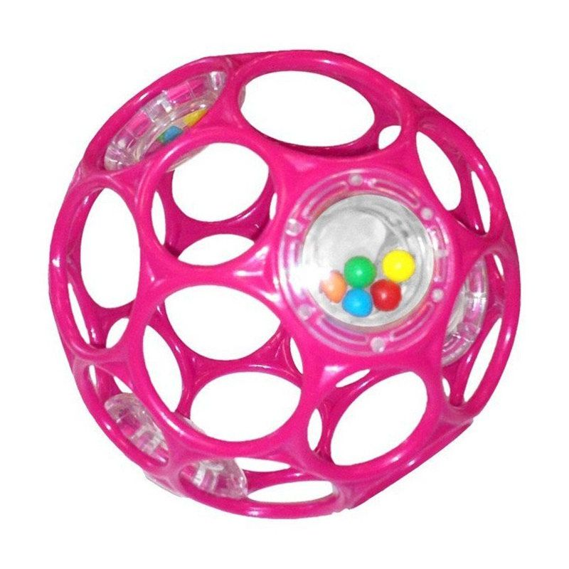 Oball Rattle 81548 Pink Mainan Anak
