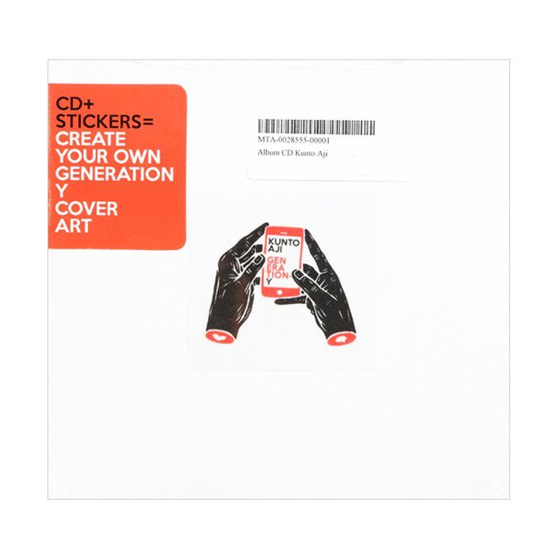 Kunto Aji Generation Y Album CD Pack