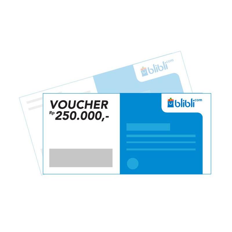Blibli Gift Card - Rp. 250.000 E-voucher