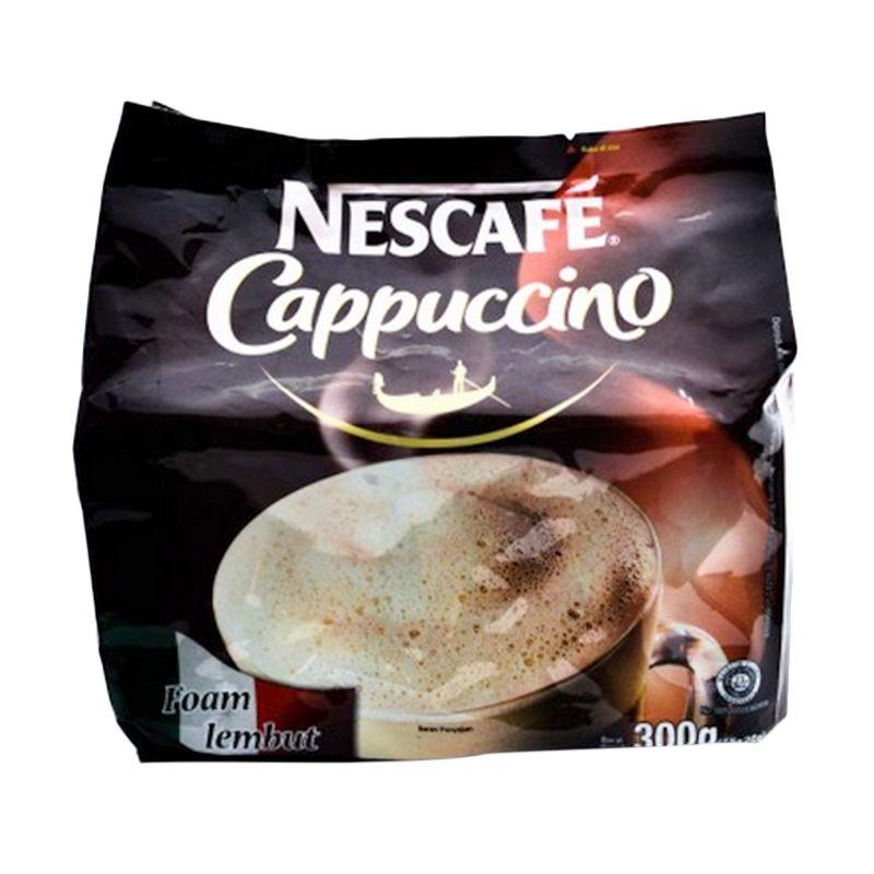 Nescafe 3 In 1 Cappucino Pbg 12089861 Kopi Instan [300 g]