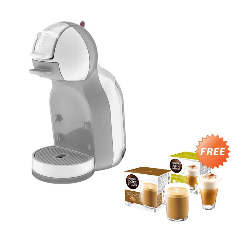 Nescafe Dolce Gusto Mini Me White Mesin Kopi [Gift Hampers Package]