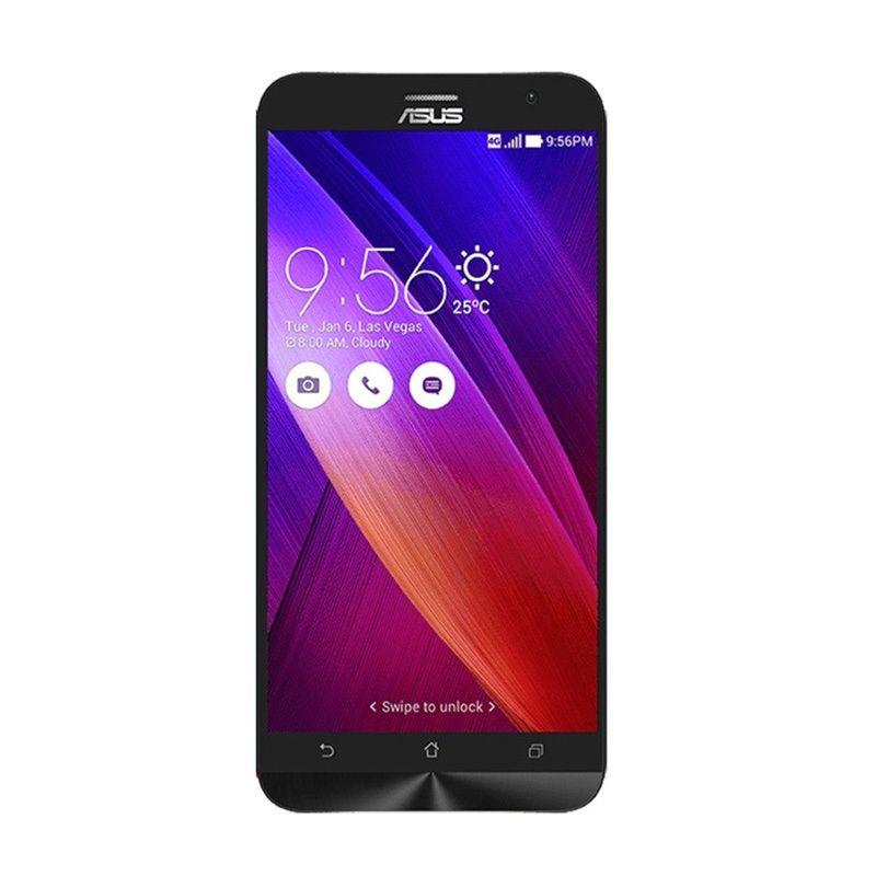 Asus Zenfone 2 ZE550ML Hitam Smartphone [2 GB/16 GB/Garansi Resmi]