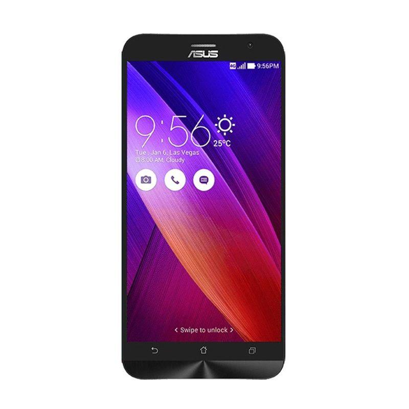 Asus Zenfone 2 ZE551ML Hitam Smartphone [4 GB/32 GB/Garansi Resmi]