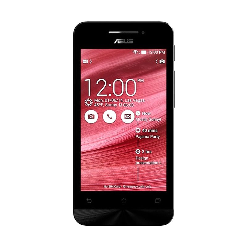 Asus Zenfone 4C ZC451CG Merah Smartphone [2 GB/8 GB/Garansi Resmi]