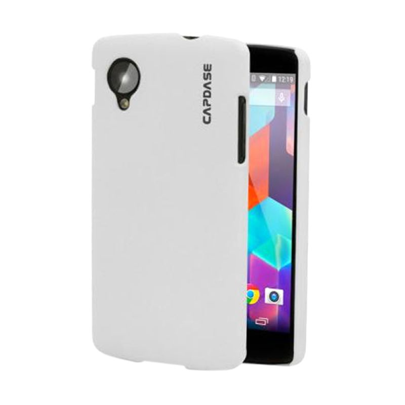 Capdase Karapace Jacket Touch White [Non-Packing] for LG Nexus 5