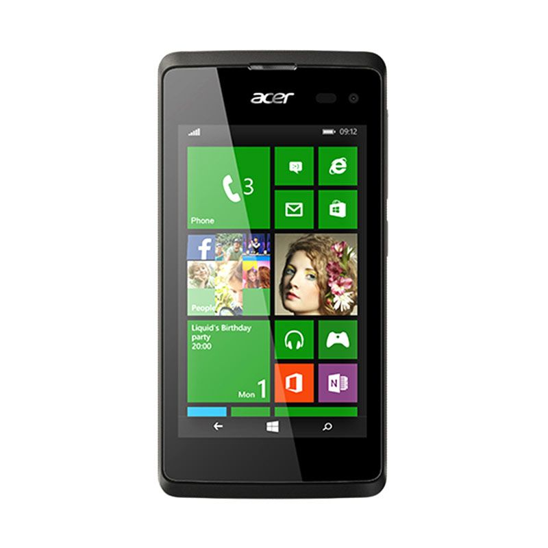 Acer M220 Black Smartphone