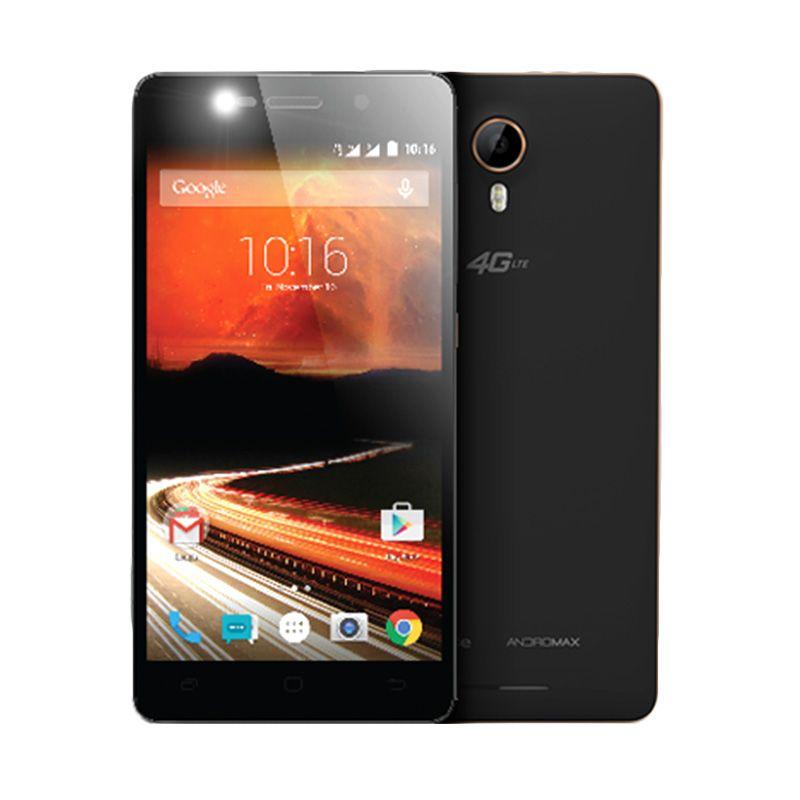 Smartfren Andromax R I46D1G Black Gold Smartphone