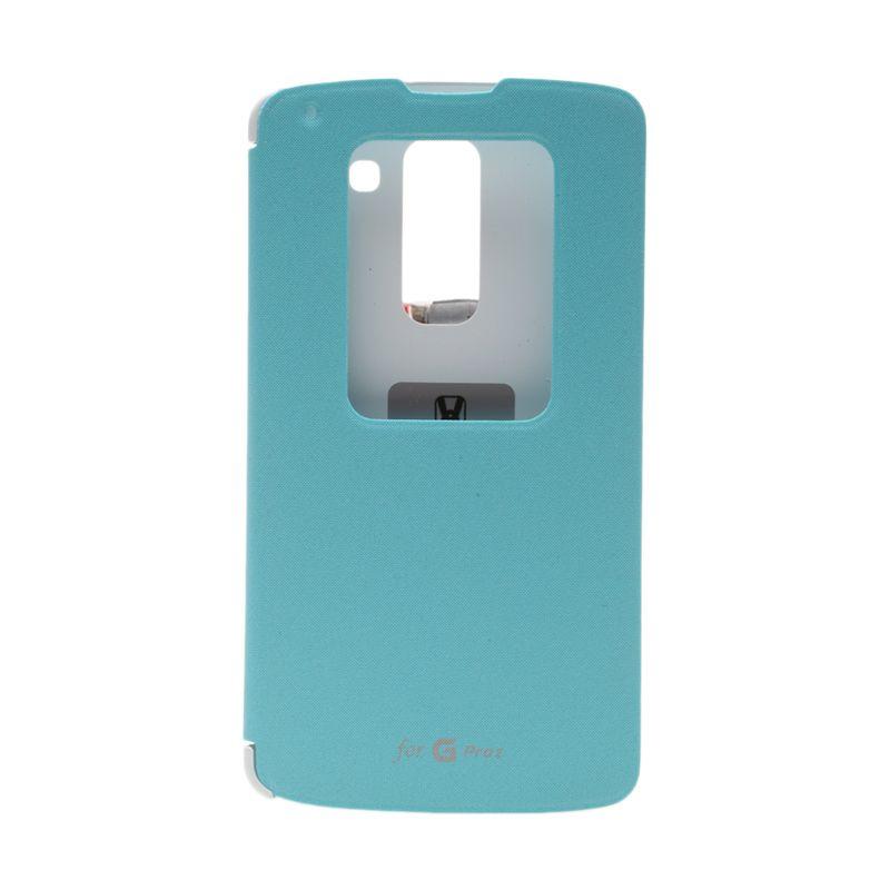 Voia Flip Cover Sky Blue Casing for LG G Pro 2