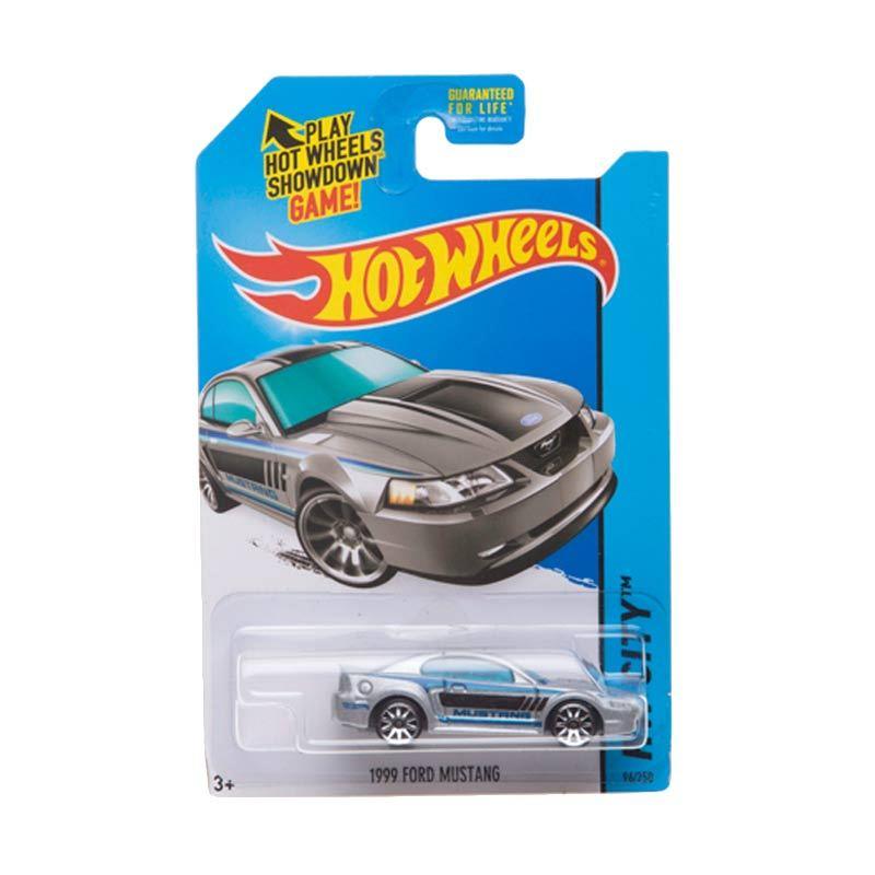 Hotwheels HW City Ford Mustang 1999 Grey Metalic Diecast