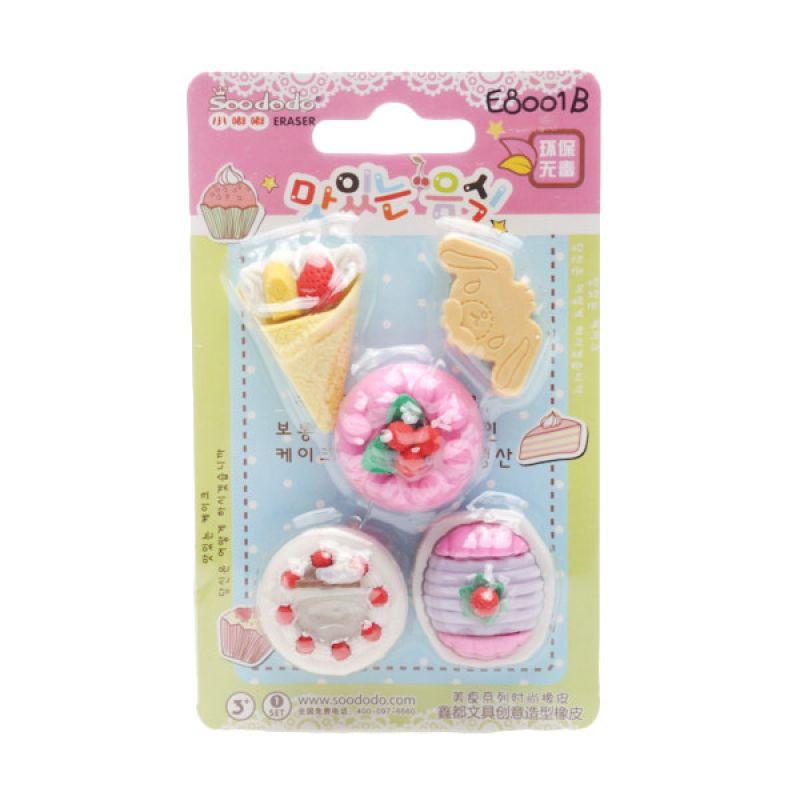 Jacq Crepes and Tart Cakes E8001B Eraser