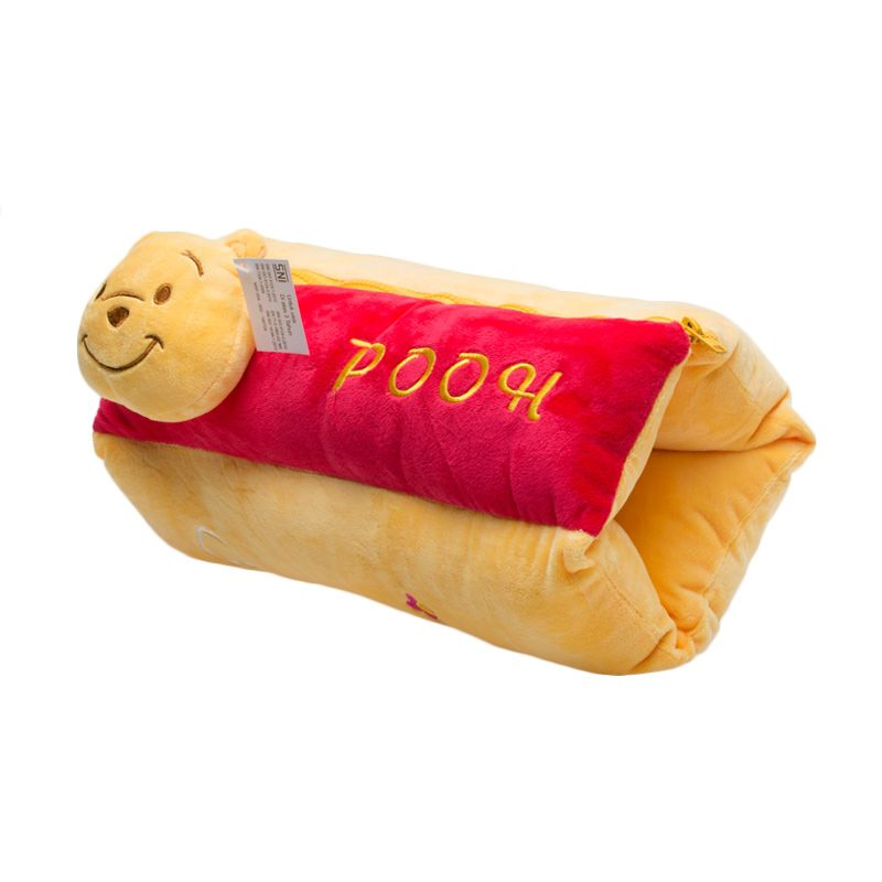 Jacq Resleting Pooh Yellow Bantal [38 cm]