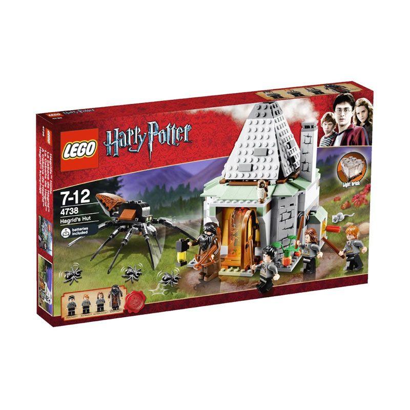 LEGO Hagrids Hut 4738 Mainan Blok Dan Puzzle