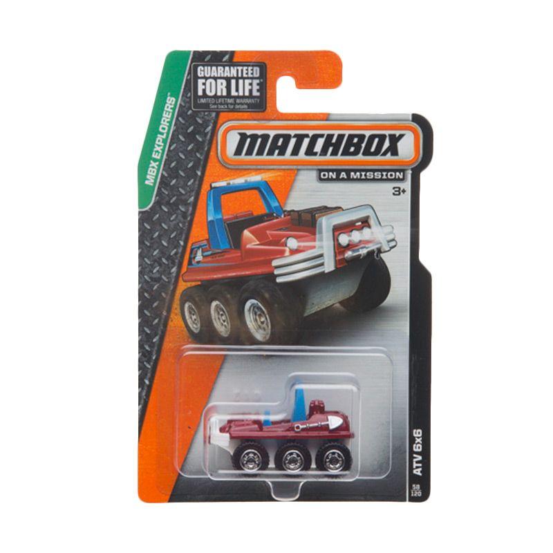 Matchbox MBX Explorers ATV 6x6 Diecast