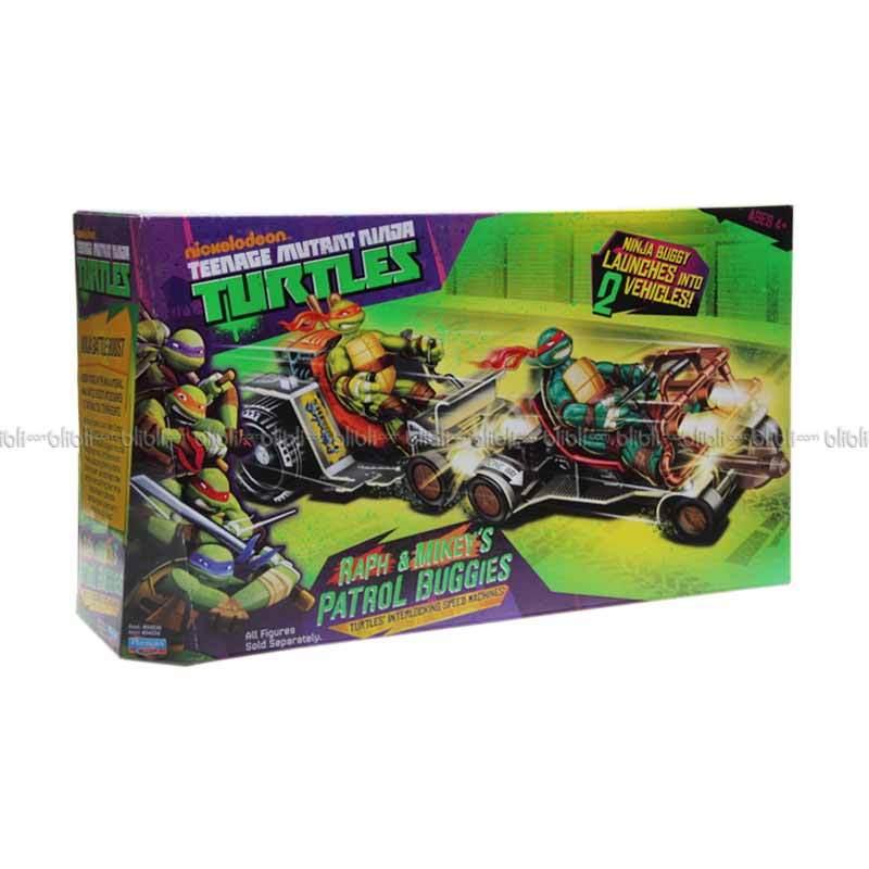 Nickelodeon TMNT Patrol Buggies Action Figure - Raph & Mike