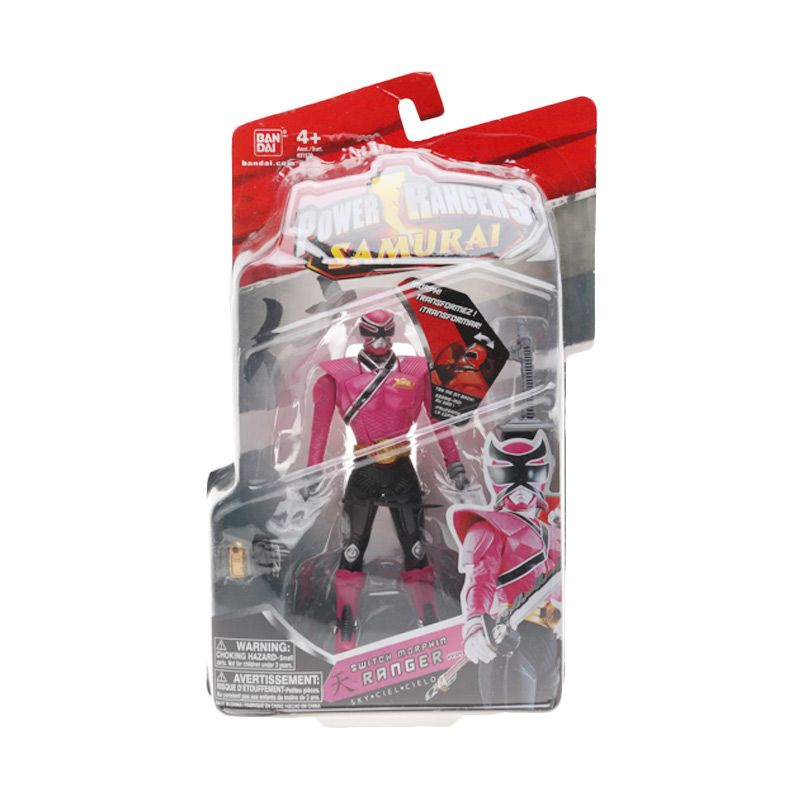 Bandai Power Rangers Samurai Switch Morphin Ranger Sky Action Figure