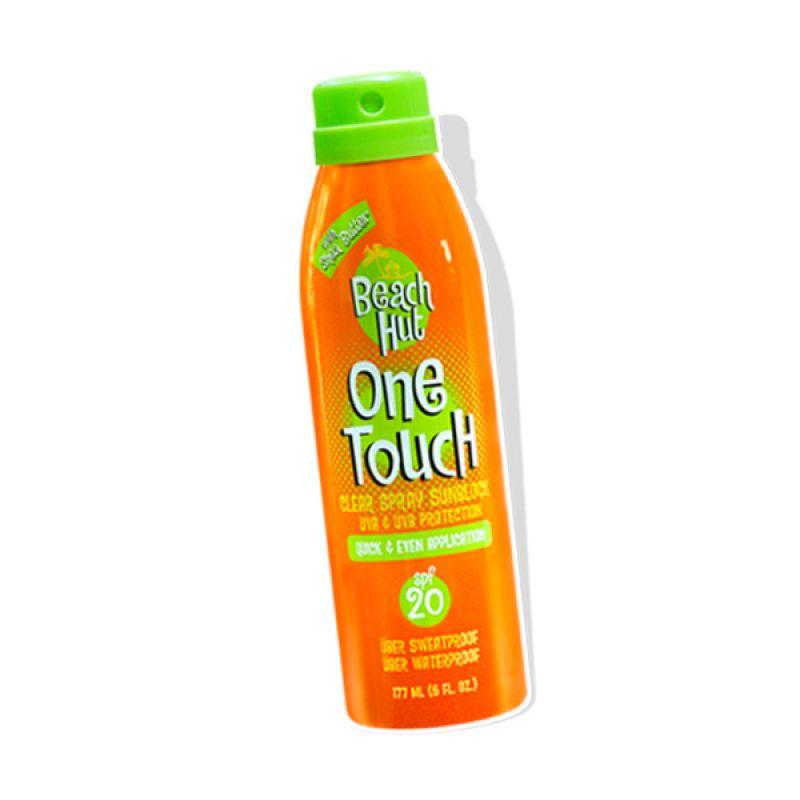 Beach Hut Sunblock One Touch Clear Spray [177 mL]