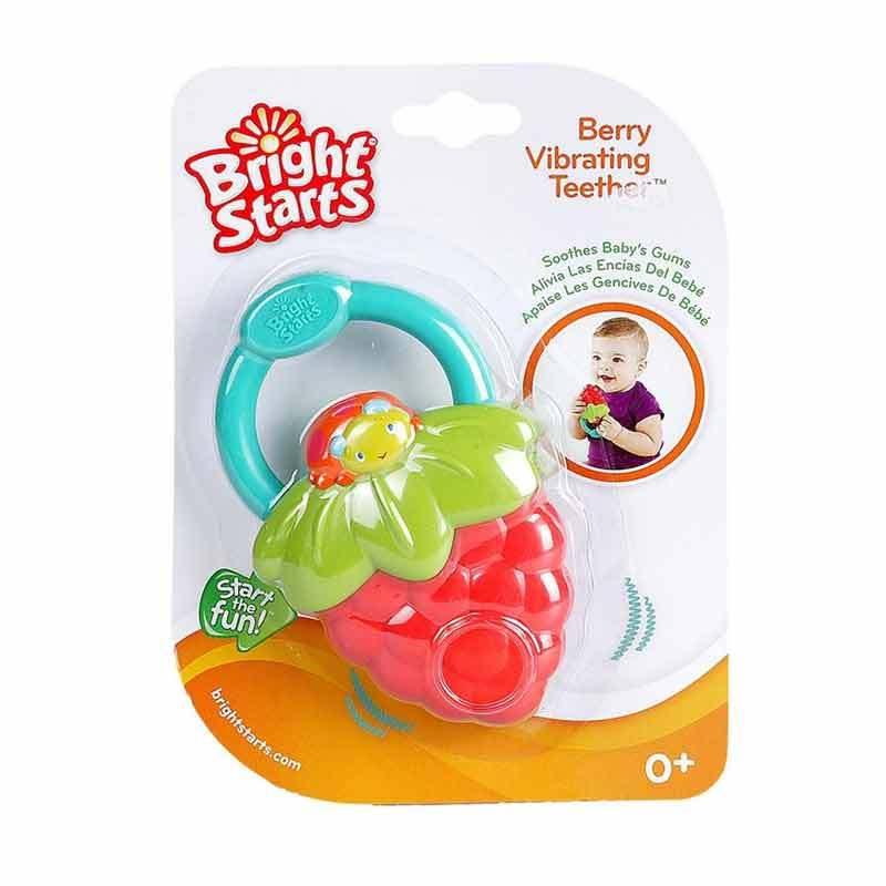Bright Starts Peel the Vibrations & Berry Vibrating Teether - Grape (9312)