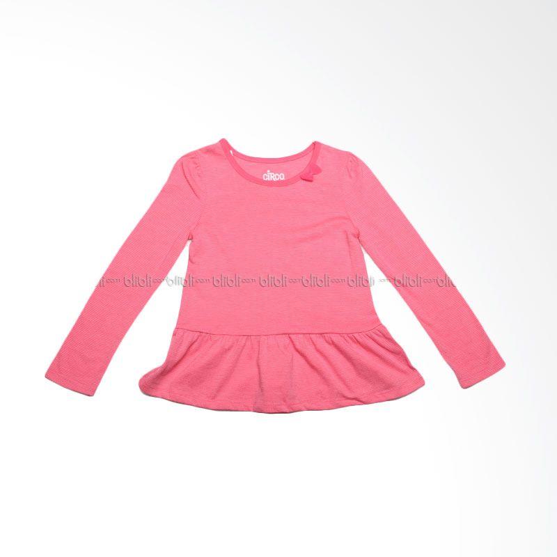 Circo Mini Dress Pink Stripes